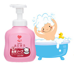 Arau Baby Body Soap Effective Cleansing